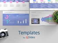 Light Theme Corporate Presentation Template Pack | Free Download