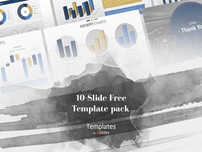 Cockpit Chart Presentation Template | Free Download presentationlayout corporatebranding corporatedesign modern googleslides download powerpoint presentations graphicdesign design