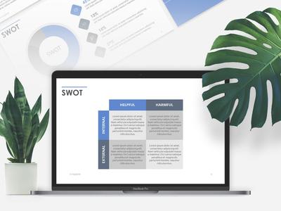 SWOT Presentation Template | Free Download presentationlayout presentationdesign templates graphicdesign 24slides download modern branding free