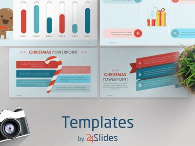 Christmas Theme Presentation Template | Free Download graphicdesign presenting presentations presentationdesign presentationlayout download powerpoint keynote brandingstrategy 24slides