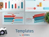 Christmas Theme Presentation Template | Free Download