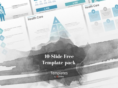 Health Care Presentation Template | Free Download download graphicdesign design free presenting corporatebranding corporateidentity presentationdesign powerpoint