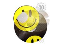 40th Birthday: Smiley