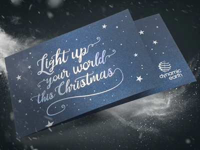 Dynamic Earth Christmas Invite