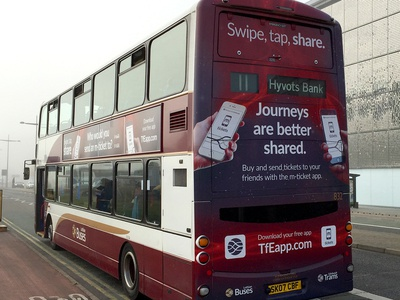 Transport for Edinburgh – Swipe, Tap, Share campaign