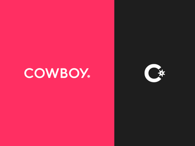 Cowboy Brand Identity bike cowboy ueno branding