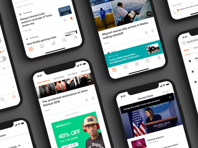Reuters News More real news news reuters feed cards personalized mobile