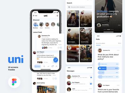 [Freebie] Uni-Social media app for college students