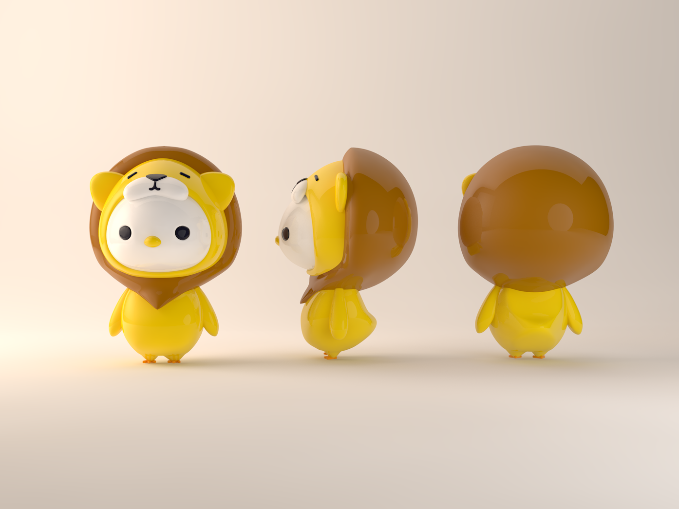 Is it a lion or a chicken?-03 ip 插图 c4d