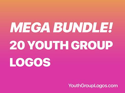 20 Youth Group Logos Mega Bundle Download branding logo youth ministry youth group bible exodus christian logo