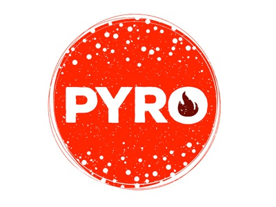 Pyro Student Ministry - YouthGroupLogos.com branding logo christian logo christian church youth ministry youth group ministry customize template custom logo pyro