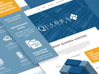 Quadrahosting website