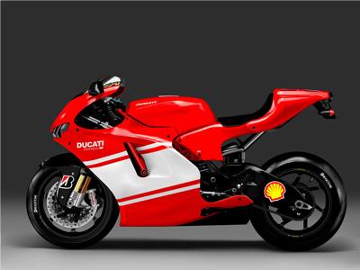 Ducati Illustration illustration motorcycle ducati photo-realistic vector