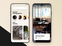 #01 - Unsplash Mobile App Concept