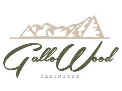 Gallowood Cabinetry Logo Version 2 By Angela Elliott Wingard
