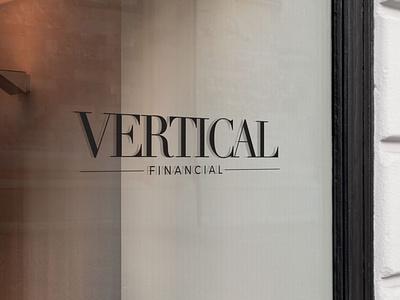 Women's Wealth Management Logo minimalist wealth management financial vertical brand identity atlanta logo branding