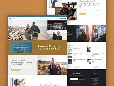 Wealth Management Squarespace Website Design lawyers wealth management firm california wealth management squarespace webdesign