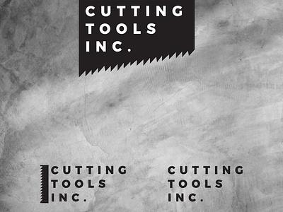 Cutting Tools Inc Logo Design flat design tools logodesign brand design branding minimalist logo minimalist