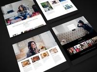 Lifestyle Blog Web Design