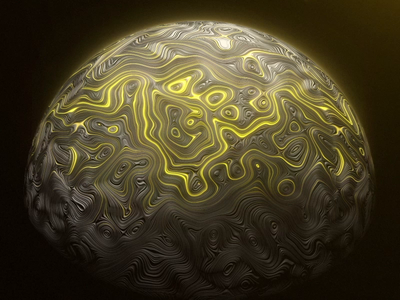 Abstract Orb vc orb planet video copilot orb motiondesign animation aftereffects 3d art 3d