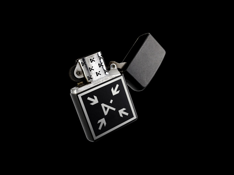Artefact - 003 - Lighter monochrome minimalism symbol accessory daily adobe render 3d object black product design product item lighter graphic branding visual design creative concept