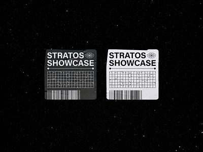 Stickers white graphic design adobe minimalism techno house music identity sticker space black record vinyl artwork design graphic visual branding creative concept