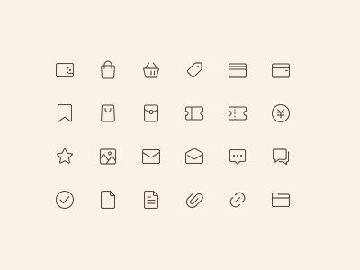 Icons_line_01 app ui vector illustration icons iconset icon design