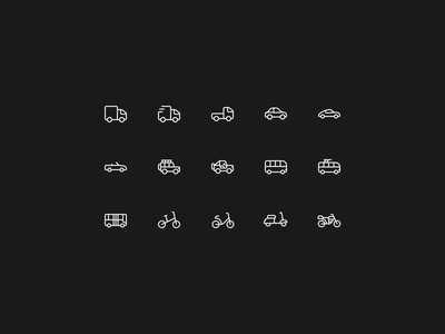 Transport Icons_01 app icon illustration vector transport icon icon