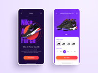 Another shoe UI design
