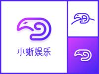 A small lizard Logo