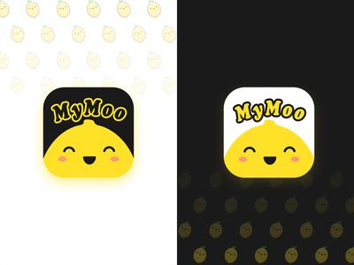 MyMoo cute app logo icon logo