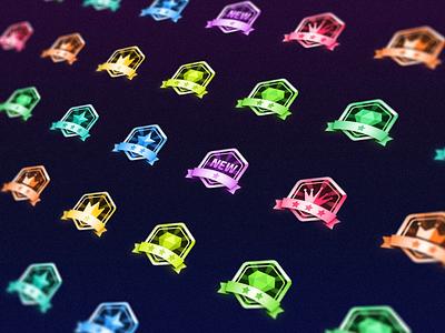 Rank Icons icon vector illustration