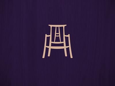 Furniture Logo furniture logo branding illustration