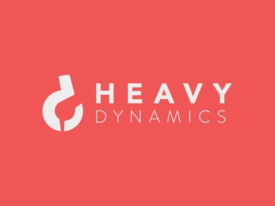 Heavy Dynamics Branding bussines card vector minimal branding logo