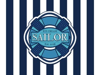 Sailor Ice Cream Logo
