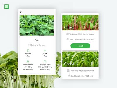 Microgreens App