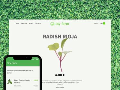 Tiny Farm App + Store