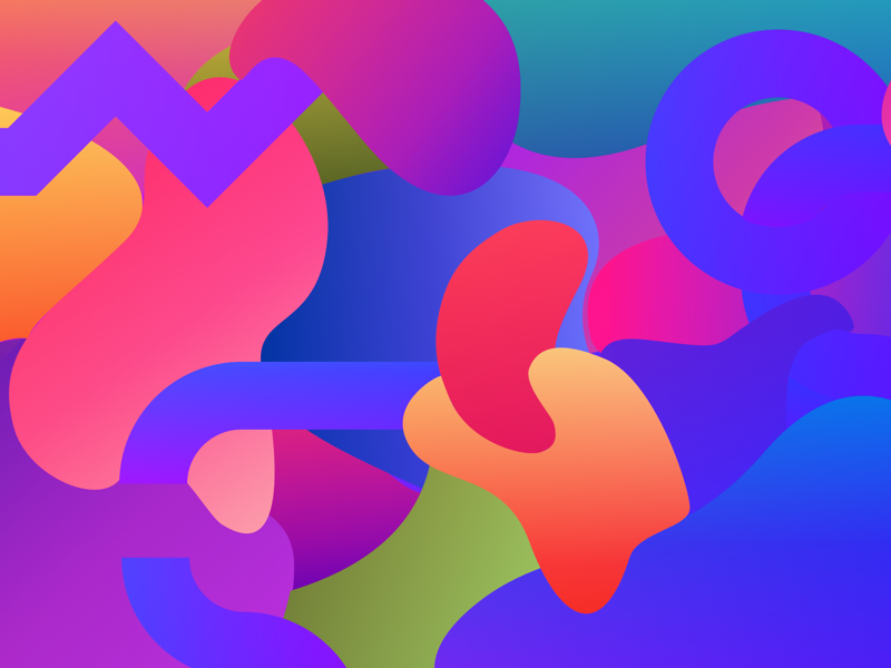 Shapes background abstract illustration