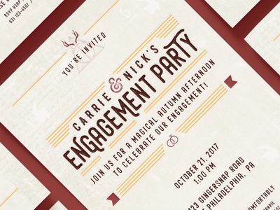 Harry Potter Engagement Invitations