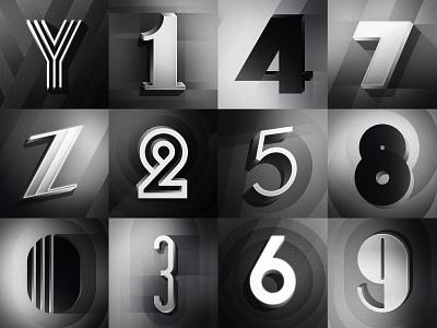 Part 3: 36 Days of Type 08 hollywood letters geometric deco artdeco oldmovies 36days 36daysoftype 36daysoftype08 typography illustration design noir filmnoir