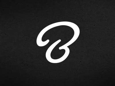 B b illustration typography