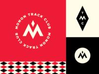 Monon Track Club Logo