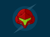 Samus Aran Helmet (Samus Returns)