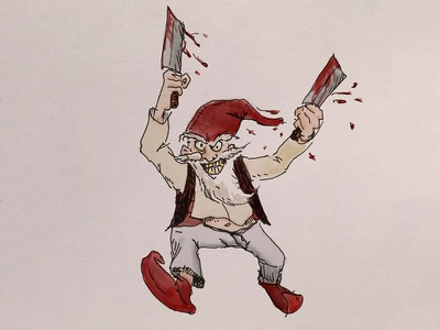 Redcap dnd fantasy illustration