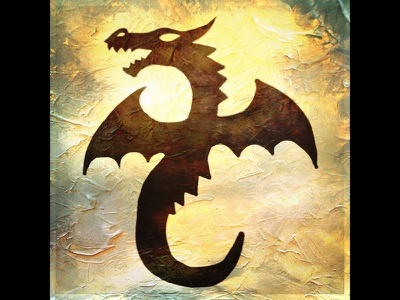 Dragon Icon dnd digital illustration dragon