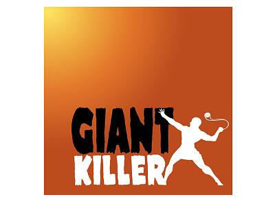 Giant Killer typography inspirational digital illustration