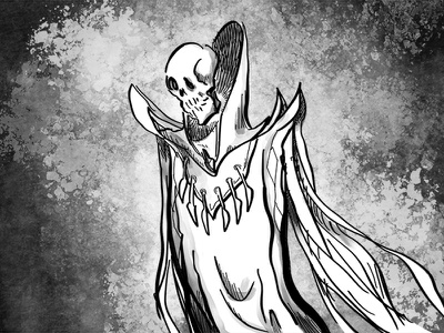 Lich dd fantasy comics cartoon illustration