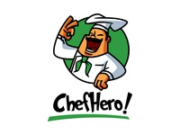 Logo design for Chef Hero