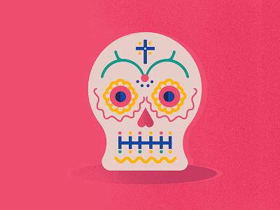Dia de los Muertos mexico illustration