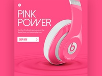 Pink Power // Beats by Dre